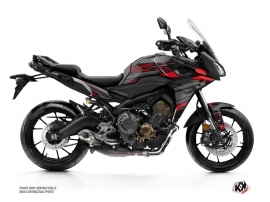 Yamaha TRACER 900 Street Bike Night Graphic Kit Black Red