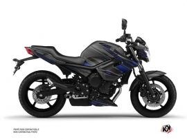 Kit Déco Moto Night Yamaha XJ6 Noir Bleu