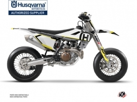 Husqvarna 450 FS Dirt Bike Nova Graphic Kit Black