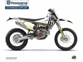 Husqvarna 150 TE Dirt Bike Nova Graphic Kit Black