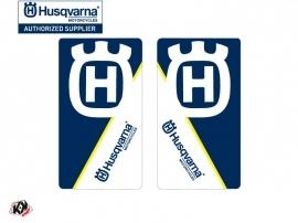 Graphic Kit Fork protection stickers Nova Dirt Bike Husqvarna TC-FC TE-FE Blue