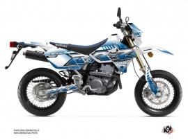 Kit Déco Moto Oblik Suzuki DRZ 400 SM Blanc