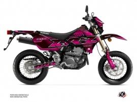 Suzuki DRZ 400 SM Street Bike Oblik Graphic Kit Pink