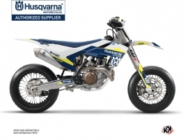 Husqvarna 450 FS Dirt Bike Orbit Graphic Kit White
