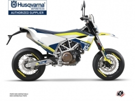 Husqvarna 701 Supermoto Street Bike Orbit Graphic Kit White