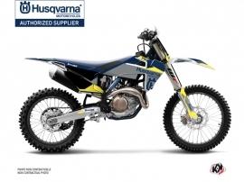 Husqvarna TC 125 Dirt Bike Orbit Graphic Kit Grey
