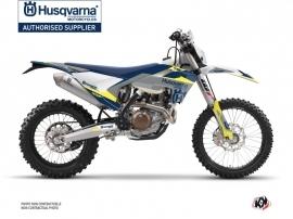 Husqvarna 125 TE Dirt Bike Orbit Graphic Kit Grey