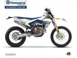 Husqvarna 250 TE Dirt Bike Orbit Graphic Kit White