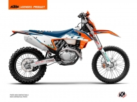 KTM EXC-EXCF Dirt Bike Origin-K22 Graphic Kit Blue
