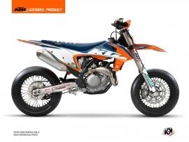 KTM 450 SMR Dirt Bike Origin-K22 Graphic Kit Blue