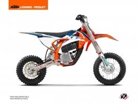 KTM SX-E 5 Dirt Bike Origin-K22 Graphic Kit Blue