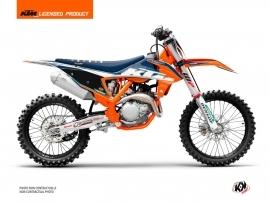 KTM 250 SXF Dirt Bike Origin-K22 Graphic Kit Blue