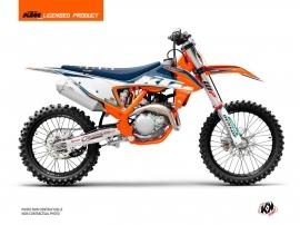 Kit Déco Moto Cross Origin-K22 KTM 300 XC Bleu