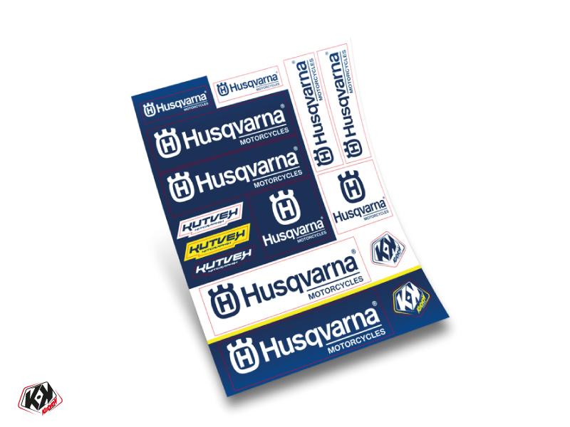 Stickers Board HUSQVARNA 30x38cm