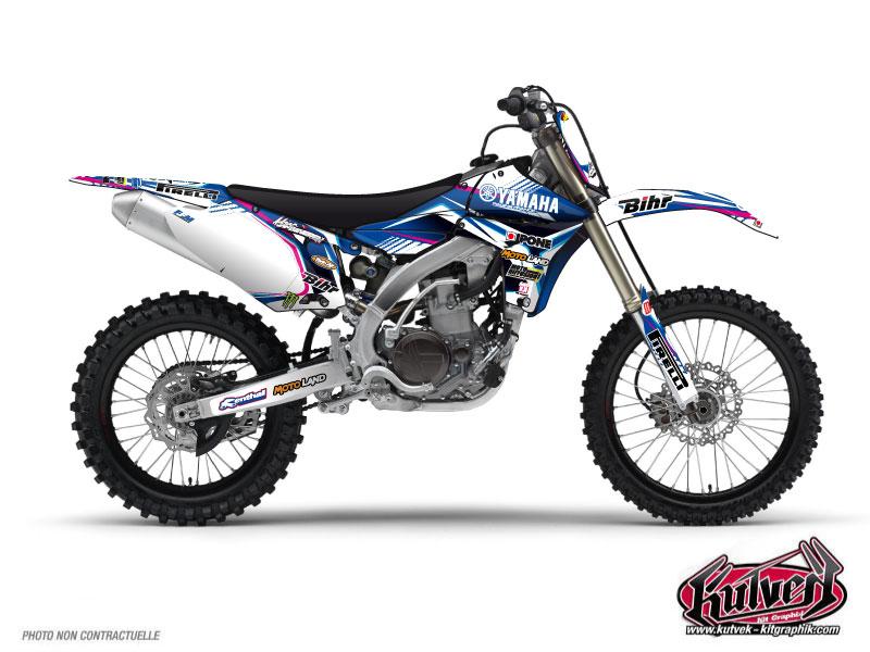 Yamaha 450 YZF Dirt Bike Replica Adrien Van Beveren Graphic Kit 2011
