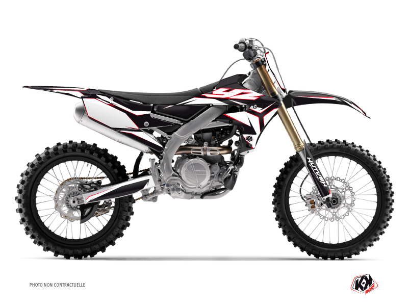 Kit graphique Moto Cross Concept Yamaha 450 YZF Rouge