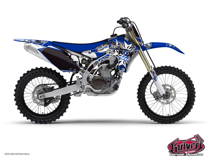 Yamaha 450 YZF Dirt Bike Demon Graphic Kit