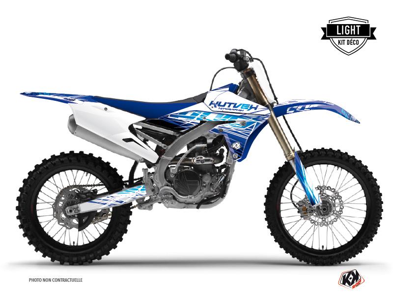 Kit Déco Moto Cross Eraser Yamaha 450 YZF Bleu LIGHT