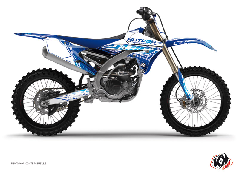 Yamaha 450 YZF Dirt Bike Eraser Graphic Kit Blue