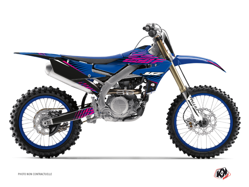 Kit Déco Moto Cross Flow Yamaha 250 YZF Rose