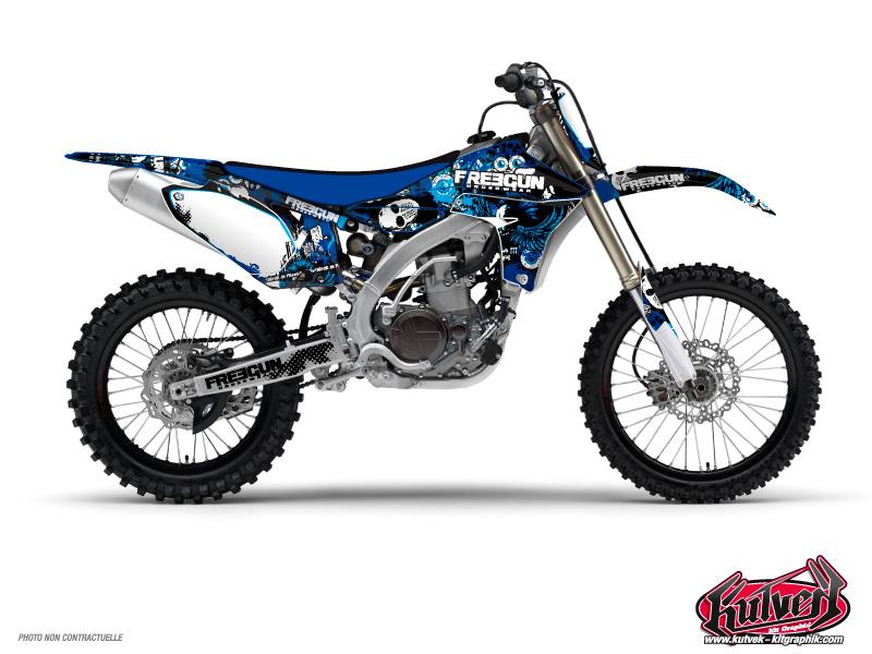 Yamaha 250 YZ Dirt Bike Freegun Graphic Kit