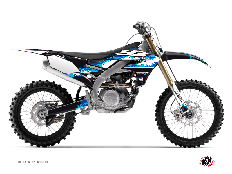 Kit graphique Moto Cross Hangtown Yamaha 450 YZF Bleu
