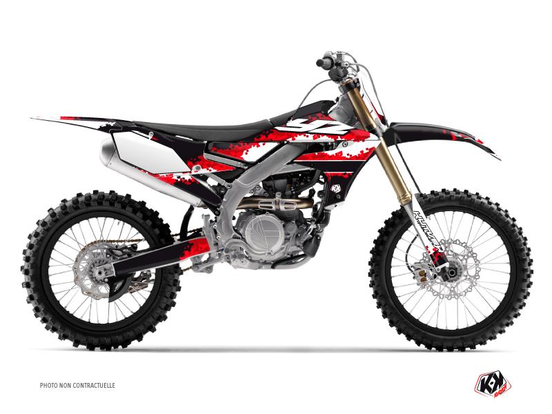 Yamaha 450 YZF Dirt Bike Hangtown Graphic Kit Red
