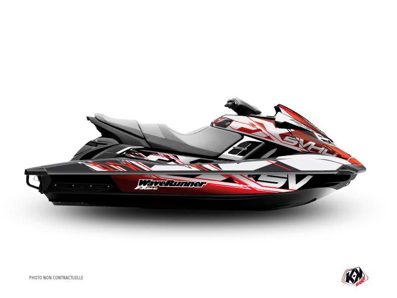 Yamaha FX Jet-Ski Mission Graphic Kit Red