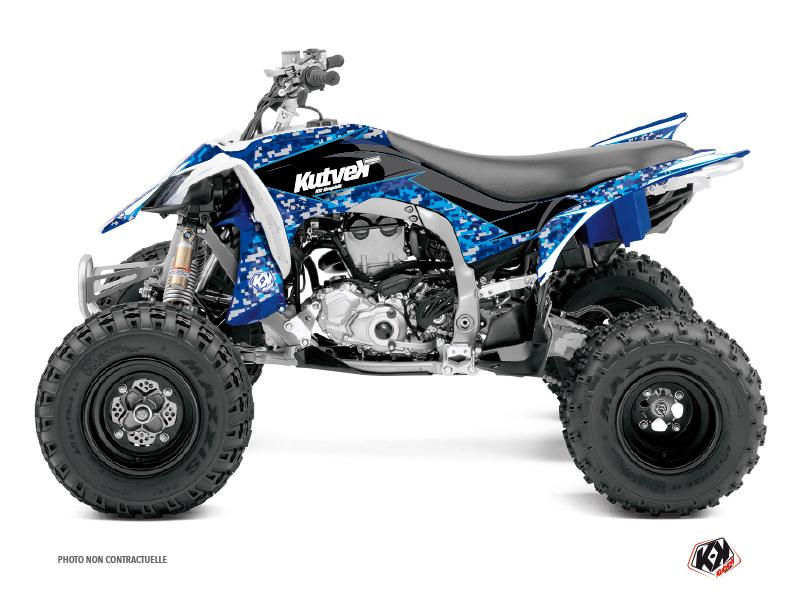Yamaha 450 YFZ R ATV Predator Graphic Kit Blue