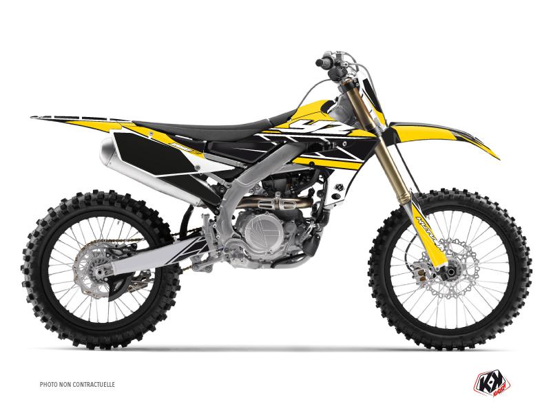 Yamaha 250 YZF Dirt Bike Replica Graphic Kit Yellow