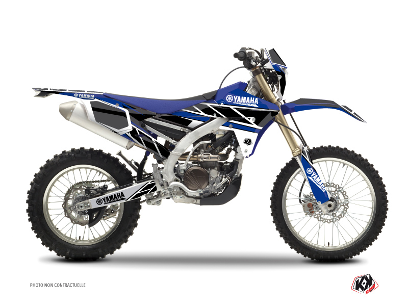Yamaha 450 WRF Dirt Bike Replica Graphic Kit Blue