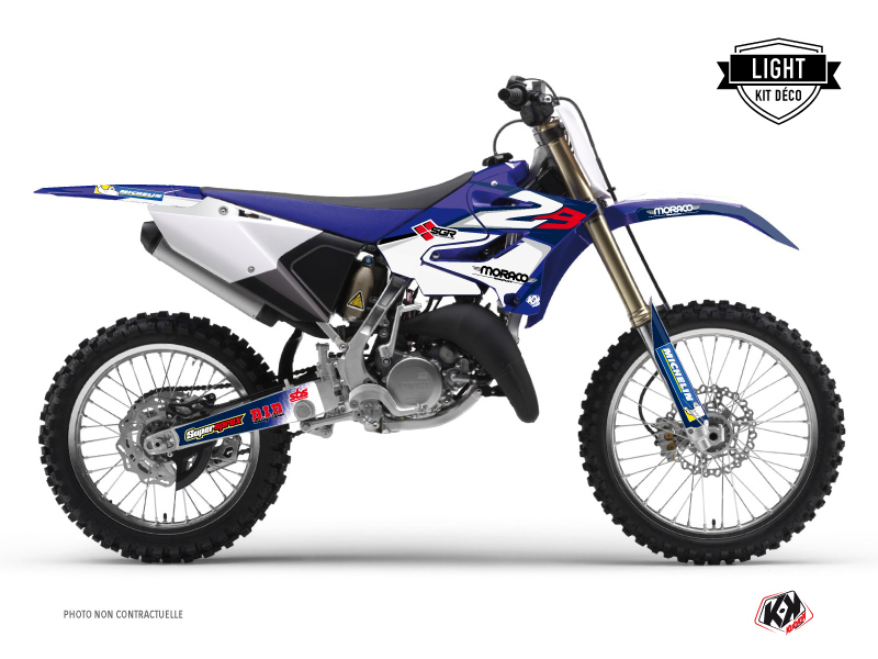 Yamaha 85 YZ Dirt Bike Replica Team 2b Graphic Kit LIGHT