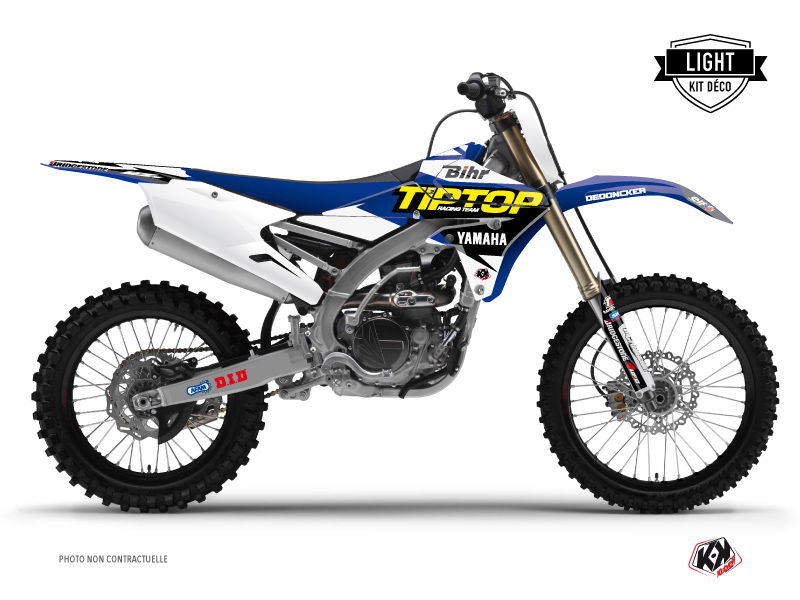 Kit Déco Moto Cross Replica Team Tip Top Yamaha 450 YZF LIGHT