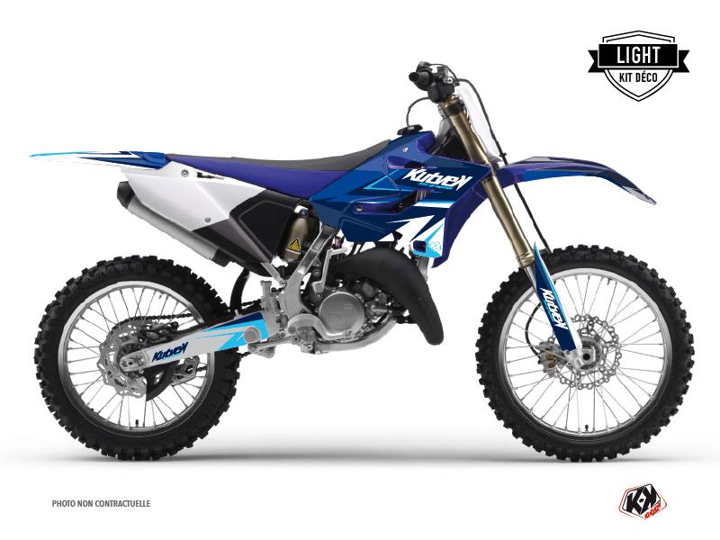 Kit graphique Moto Cross Stage Yamaha 125 YZ Bleu LIGHT