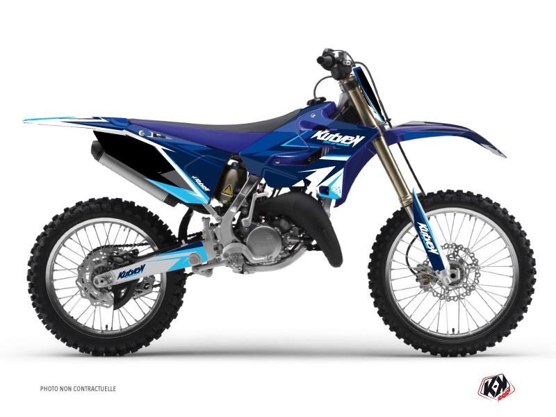 Yamaha 125 YZ Dirt Bike Stage Graphic Kit Blue