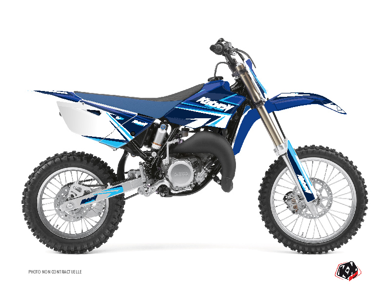 Yamaha 85 YZ Dirt Bike Stage Graphic Kit Blue