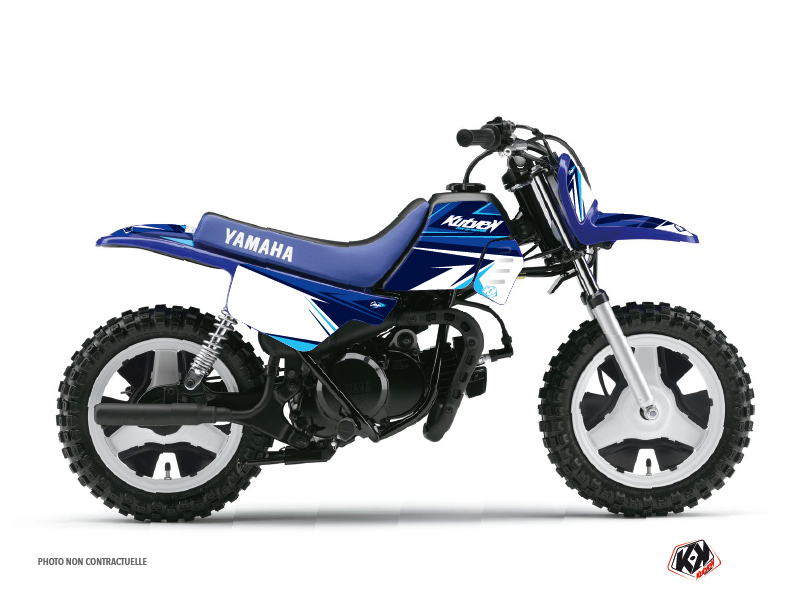Yamaha PW 50 Dirt Bike Stage Graphic Kit Blue