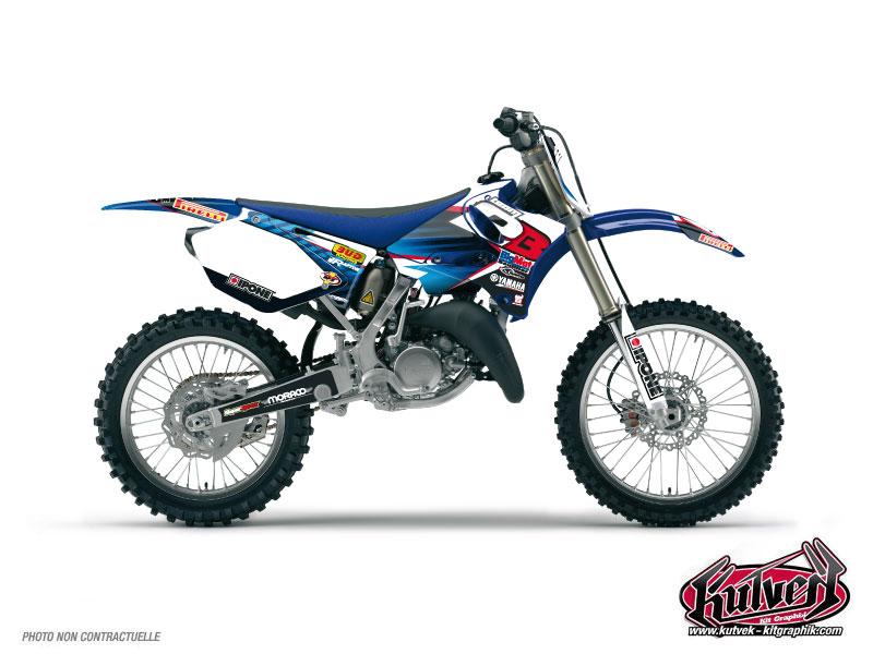 Yamaha 250 YZ Dirt Bike Replica Team 2b Graphic Kit 2012