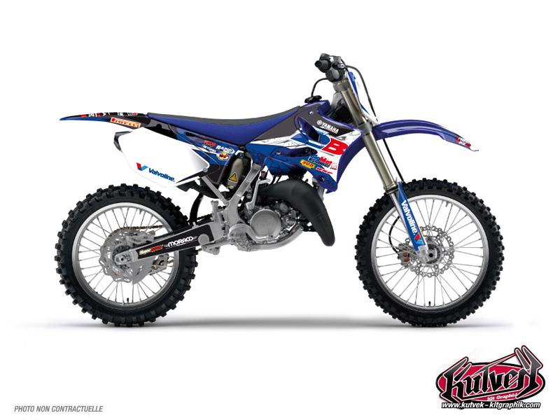 Yamaha 125 YZ Dirt Bike Replica Team 2b Graphic Kit 2013