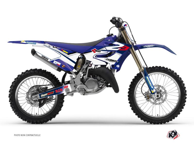 Yamaha 250 YZ Dirt Bike Replica Team 2b Graphic Kit 2015