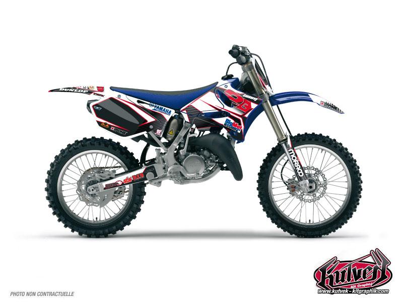 Yamaha 250 YZF Dirt Bike Replica Team 2b Graphic Kit 2010