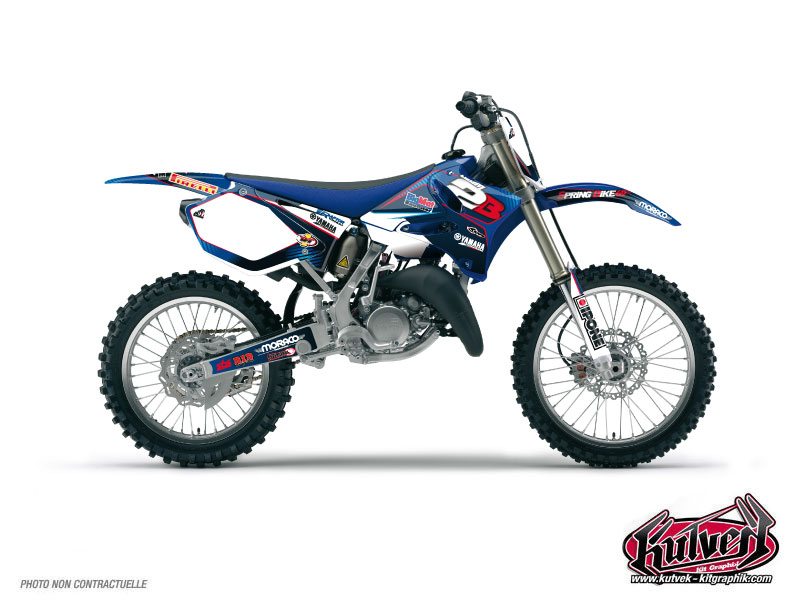 Yamaha 250 YZF Dirt Bike Replica Team 2b Graphic Kit 2011