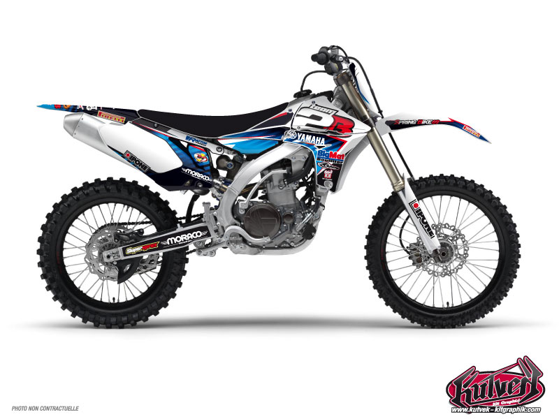 Yamaha 450 YZF Dirt Bike Replica Team 2b Graphic Kit 2012