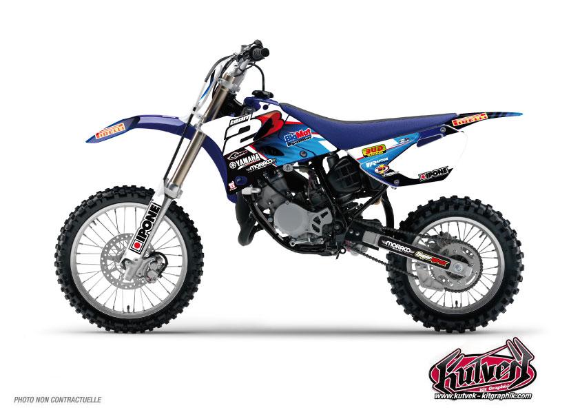 Yamaha 85 YZ Dirt Bike Replica Team 2b Graphic Kit 2012