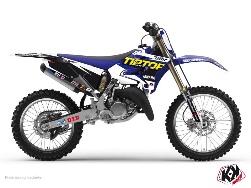 Yamaha 125 YZ Dirt Bike Replica Team Tip Top Graphic Kit 2015