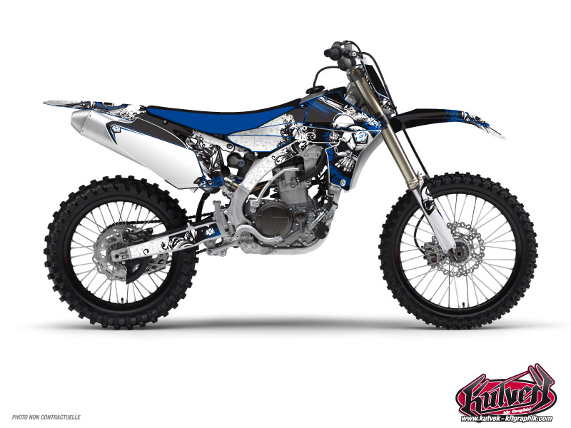 Yamaha 85 YZ Dirt Bike Trash Graphic Kit