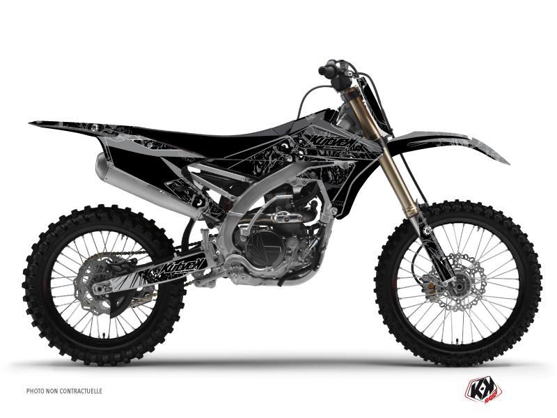 Kit Déco Moto Cross Zombies Dark Yamaha 450 YZF Noir