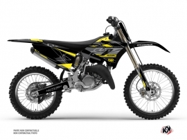 Yamaha 250 YZ Dirt Bike Outline Graphic Kit Yellow