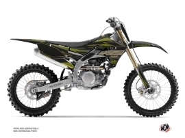 Kit Déco Moto Cross Outline Yamaha 450 YZF Kaki