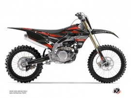 Kit Déco Moto Cross Outline Yamaha 450 YZF Rouge